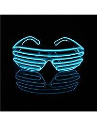Lerway - Gafas con iluminación LED de neón y control por voz