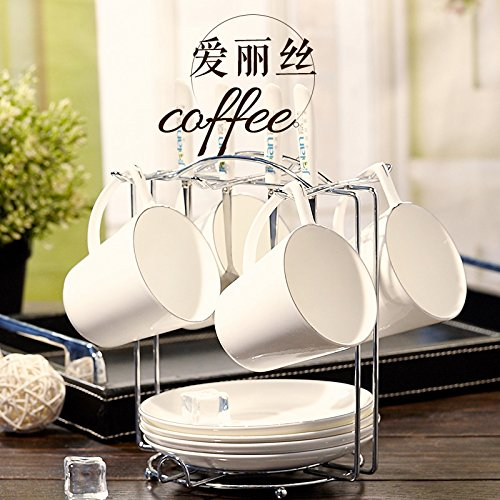 FAN4ZAMEHome Keramik Kaffeetasse Setafternoon Cup Sets Von Combinationsbone China Kaffee Tasse Teller Entsprechen Europäischen Platin Blond Kaffee Tasse Kaffee Kaffeetasse Set Kaffee Set A (Sie Selbst Machen Disney Kostüme)