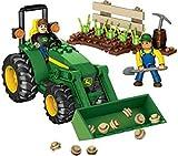 Mega Bloks World Builders John Deere Farm Tractor.