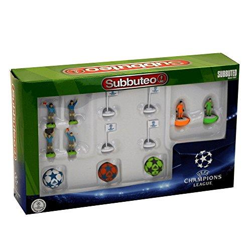 Subbuteo Set de Accesorios UEFA Champions League