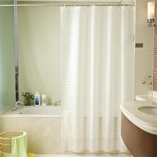 HomJo Rideaux de douche Rideau de douche imperméable à l'eau moules d'épaississement coupe rideaux rideaux de salle de bain rideaux de tissu hygiène douche rideaux de bain 180 * 180cm , 150*200