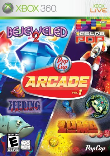 PopCap Arcade Vol. 1 (Bejeweled 2, Astro Pop, Feeding Frenzy, Zuma) by PopCap Games