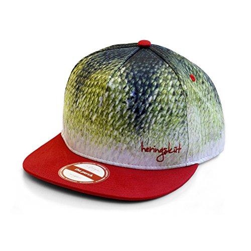 heringsküt - Pescador Gorra Gorro I Baseballcap Hat para Pescadores Gorra de Pesca Snapback Ropa de Pesca | Regalos para Pescadores | Perca