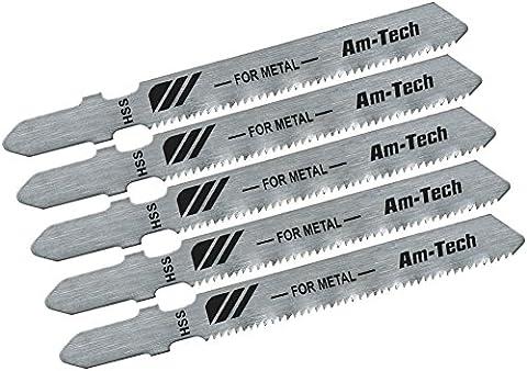 Am-tech M1605 Metal Jigsaw Blade Set (5-Piece)