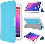 Acer Iconia One B1-770 Case - IVSO Slim Smart Cover Case for Acer Iconia One B1-770 7-Inch Tablet (Blue)