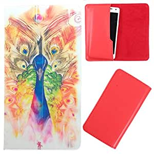 DooDa - For Micromax Canvas Amaze PU Leather Designer Fashionable Fancy Case Cover Pouch With Smooth Inner Velvet