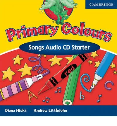 Primary Colours Songs Audio CD Starter (Primary Colours) (CD-Audio) - Common