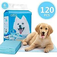 Nobleza - 120 x Empapadores Perros Alfombrilla higiénica de Entrenamiento para Perros. Ultraabsorbente 90cm*60cm