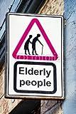 druck-shop24 Wunschmotiv: elderly people sign #105554273 - Bild auf Alu-Dibond - 3:2-60 x 40 cm/40 x 60 cm