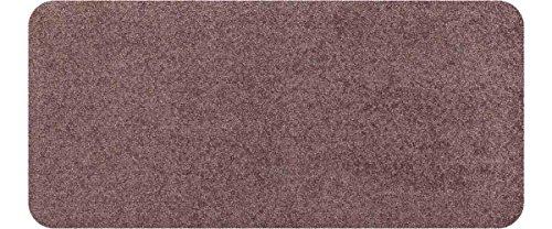 Salonloewe Fußmatte waschbar Nougat 30x60 cm Schmutzfangmatte
