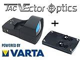 VECTOR-OPTICS RedDot Rotpunkt inkl. Glock Montage / (DOCTER kompartibel) Visier Sphinx Zieloptik