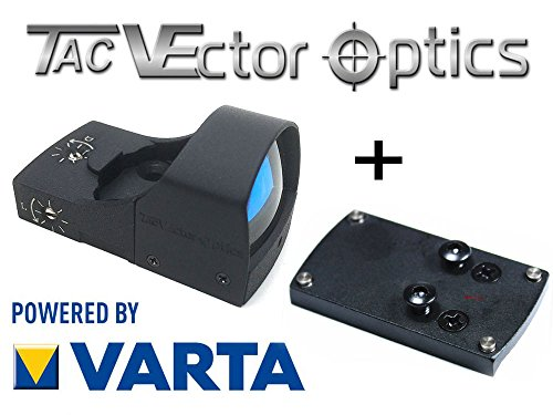 VECTOR-OPTICS RedDot Rotpunkt inkl. Glock Montage / (DOCTER kompartibel) Visier Sphinx Zieloptik