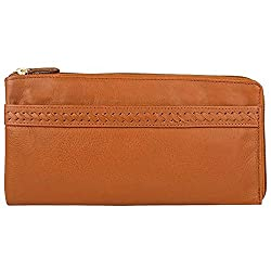 Hidesign Womens Casual Wear Zipper Closure Wallet