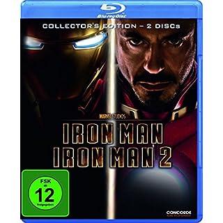 Iron Man/Iron Man 2-Collector's Edit (Blu-Ray)