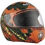 Studds Full Face Helmet Ninja 3G D2 (Matt Brown, M)