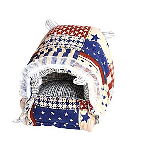 Dylandy - Caseta de hámster para Perro, caseta pequeña para Perro, caseta de otoño e Invierno para Mantener Caliente a los Gatos y Mascotas