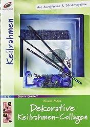 Dekorative Keilrahmen-Collagen
