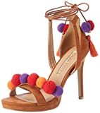 Buffalo Shoes Damen 315475 IMI Suede Bhwmd A75 Knöchelriemchen, Braun (Tan 01), 40 EU