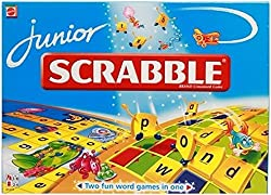 Mattel Junior Scrabble Crossword Game