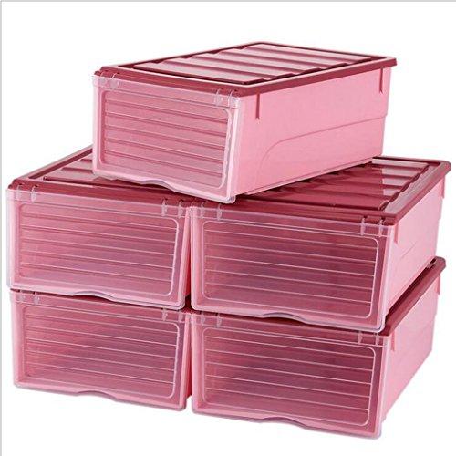 Sucastle,Wirklich nützliche Aufbewahrungsboxen sind leicht und robust und stapelbar,Plastik,25.5*34.7*14.2cm