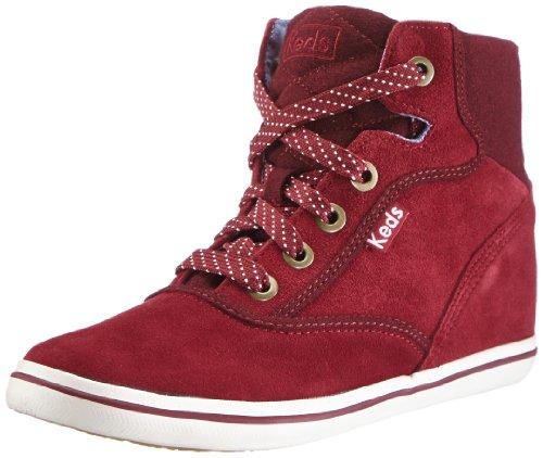 Hidden Wedge Boot (Keds Rookie Hidden Wedge Suede WH48428, Damen Chukka Boots, Rot (burgundy), EU 37 (UK 4) (US 6.5))