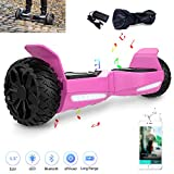 COLORWAY Hoverboard Elettrico App Scooter a 8 Pollici con Bluetooth & LED Auto...