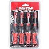 Dekton DT65305 Precision Torx Set (4 Pieces)