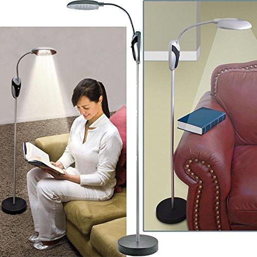 Lampada piantana da terra a led senza fili cordless a batterie altezza regolabile da 40 a 145 cm luce da scrivania per casa e ufficio b4