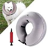 Spardar Hundehalsband, aufblasbar, weich, für Kleine und mittelgroße Hunde, Katzen, verhindert Das Berühren von Nähten mit Aufblaswerkzeug