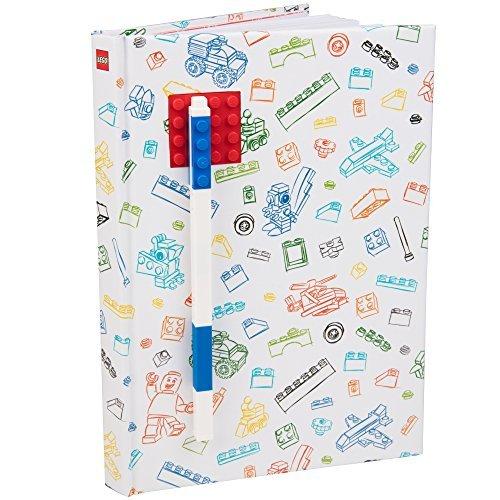 Lego 90320 - Notizbuch A5, liniert, mit einem Gel-Pen in blau, rot Preisvergleich