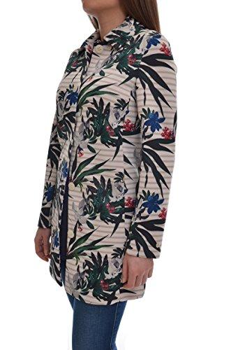 Geospirit Damen Mantel Bianco