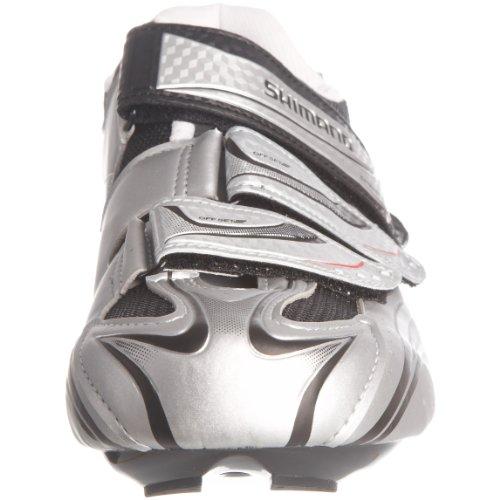 Shimano R077, Herren Radsportschuhe Silber (Silber)