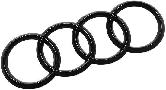 Logo Blackline Black Edition Logo pour calandre Noir RS4 B9