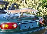 MAZDA MX5 CLASSIC WOOD LUGGAGE RACK BOOT RACK