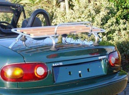 Preisvergleich Produktbild boot-bag. COM Holz Gepäckträger Gepäckträger Cabrio Standard-Befestigungen