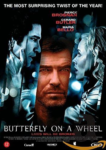1-DVD SPEELFILM - BUTTERFLY ON A WHEEL