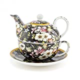 Lesser & Pavey Blossom Kilburn Tea for One, Mehrfarbig