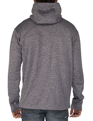 Bench Herren Sweatshirt Sweatjacke Hyperbolic Jet Black Marl