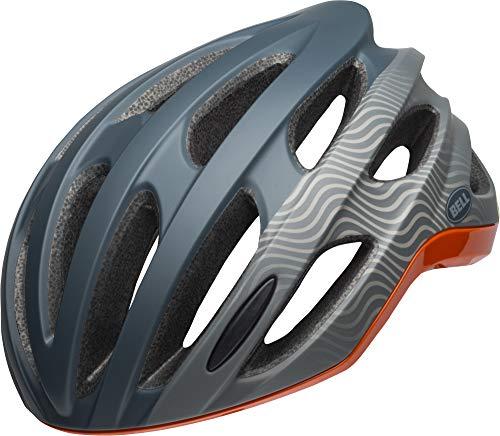 Bell Unisex- Erwachsene Formula Fahrradhelm, Tsunami m/g Dark Gry/orange, M