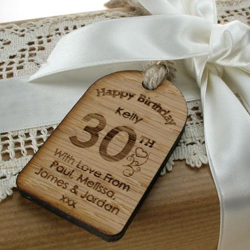 Personalised 30th birthday gift, 30th birthday gift for her, 30th ...