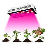 Olafus 300W Grow Light Lampada per Piante VEG&Bloom 3 Modalità Spettro Completo di Luci 80 LEDs, Stimola Germinazione e Fioritura per Peperoncino Domodoro Piante in Acquario Orto Orchidee
