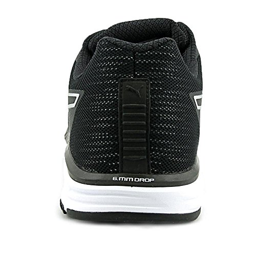 Puma Speed 500 Ignite Nightcat Synthétique Chaussure de Tennis Black-Silver-Black