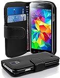 Cadorabo Étui de Protection en Cuir synthétique pour Samsung Galaxy S5 Mini / S5...