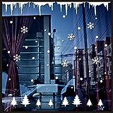 Wandaufkleber,Wand-Fensteraufkleber Engel Schneeflocke Weihnachten Xmas Vinyl Art Dekoration Abziehbilder Geschenk