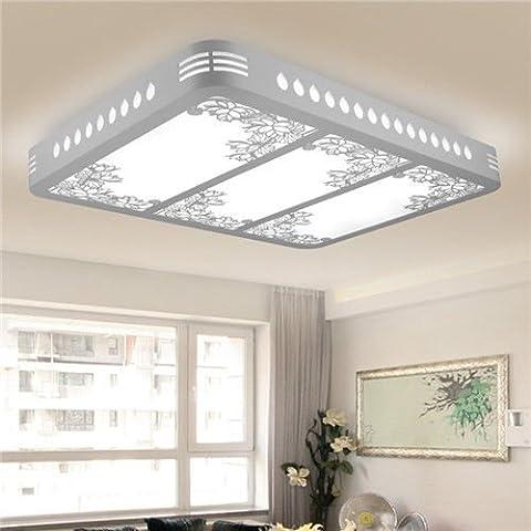 Stylehome LED Energiespar Deckenlampe Wandlampe 90w Helligkeit Dimmbar mit Fernbedienung