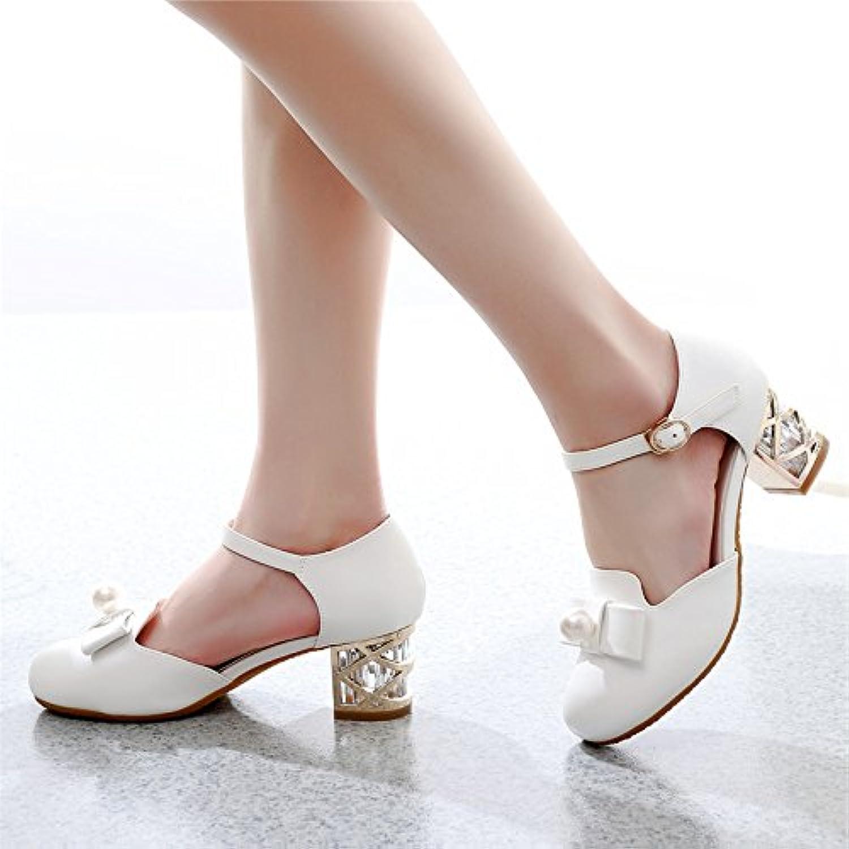 GTVERNH-donna summer i sandali scarpe col tacco alto moda 5-8cm baotou con una spessa buckle superficiale bocca... | Queensland  | Uomini/Donne Scarpa