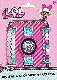 L.O.L. Surprise 22050 - Reloj Digital con Correa en Plástico, Niñas
