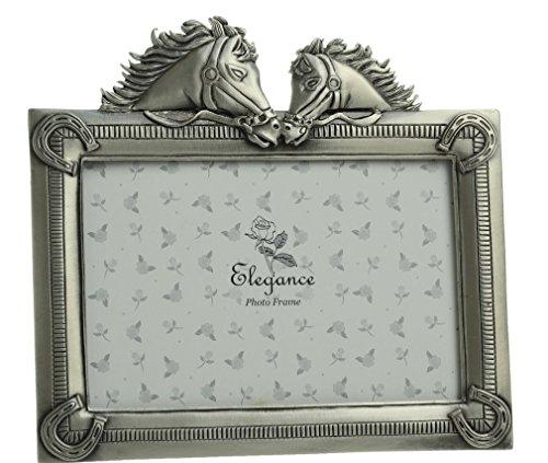 Preisvergleich Produktbild Bilderrahmen im Pferdekopf-Design. Ein tolles Geschenk für jeden Pferde-Liebhaber