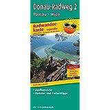 Donau-Radweg 2, Passau - Wien: Leporello Radtourenkarte mit Ausflugszielen, Einkehr- & Freizeittipps, wetterfest, reissfest, abwischbar, GPS-genau. 1:50000