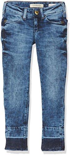Scotch & Soda R'Belle Mädchen Le Voyage - Cloudy Day | Super Skinny Fit Jeans, Blau 1501, 152 (Herstellergröße: 12) Bella Cotton Jeans